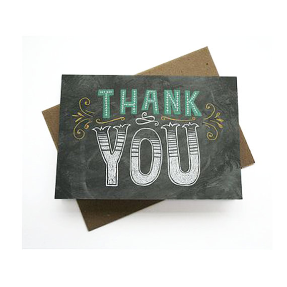 Thank you card by Stephsayshello